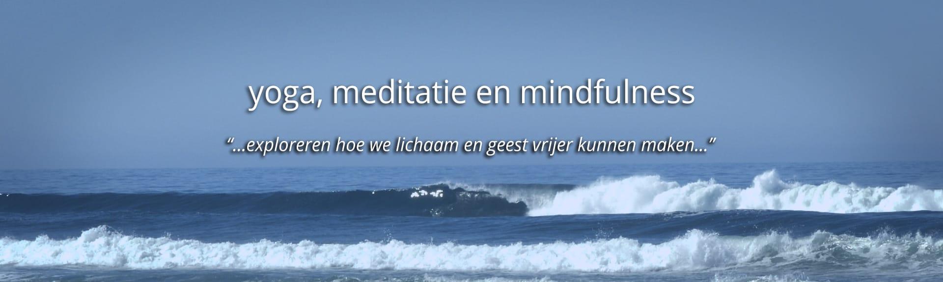 yoga meditatie en mindfulness